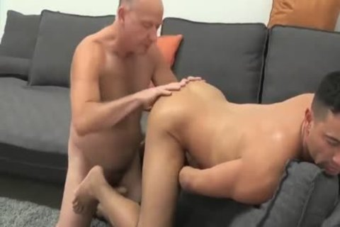 young chap Sucks & acquires boned By older Daddy