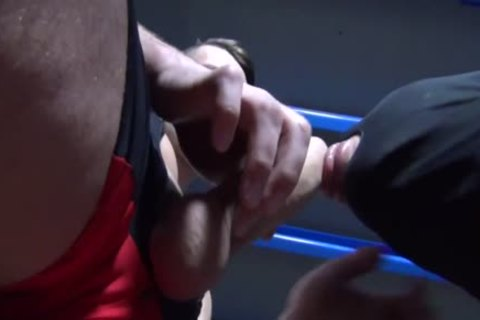 Muscle Wrestling And boning