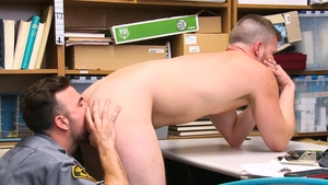 YoungPerps: Officer Brian Bonds being pounded by Mason Lear