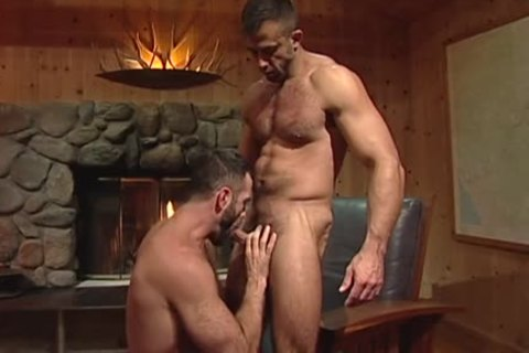 At The Fireplace