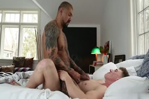 Straight College guys Sharing A cum Load