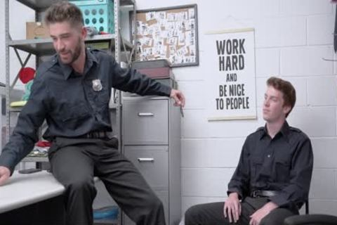 Bored Of Being Straight, Two Guards bang Each Other