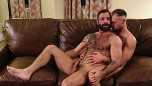 IconMale: Brown hair Zayne Roman cumshot sex scene