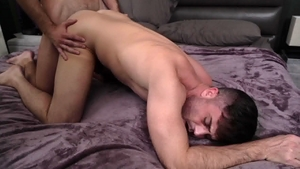 IconMale.com: College twink Lance Hart rimjob video HD
