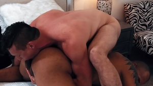 NoirMale.com: Jason Vario next to muscle Pierce Paris rimjob