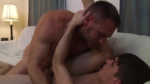 Icon Male: Young twink Hans Berlin reality sucking cock