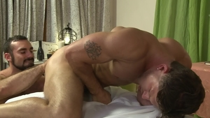 Icon Male: Hairy Jaxton Wheeler feels up to rough nailing