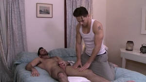 Icon Male: Muscled Billy Santoro butt fucking