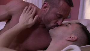IconMale - Muscle Josh Stone fucking in the ass masturbating