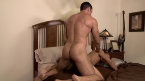 Icon Male - Hairy and athletic Alex Greene fucks in the ass