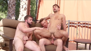 NextDoorOriginals - Ty Mitchell and Mathias outdoors