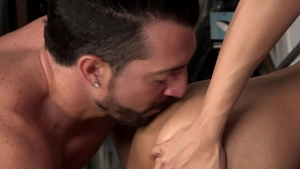 DylanLucas.com - Muscle Marco Montgomery rimming scene